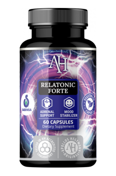 Relatonic Forte from Apollo Hegemony is supplement containing whole blend of most important adaptogens